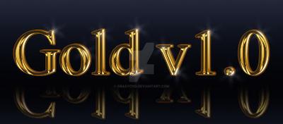 GoldTextEffect by Grasycho