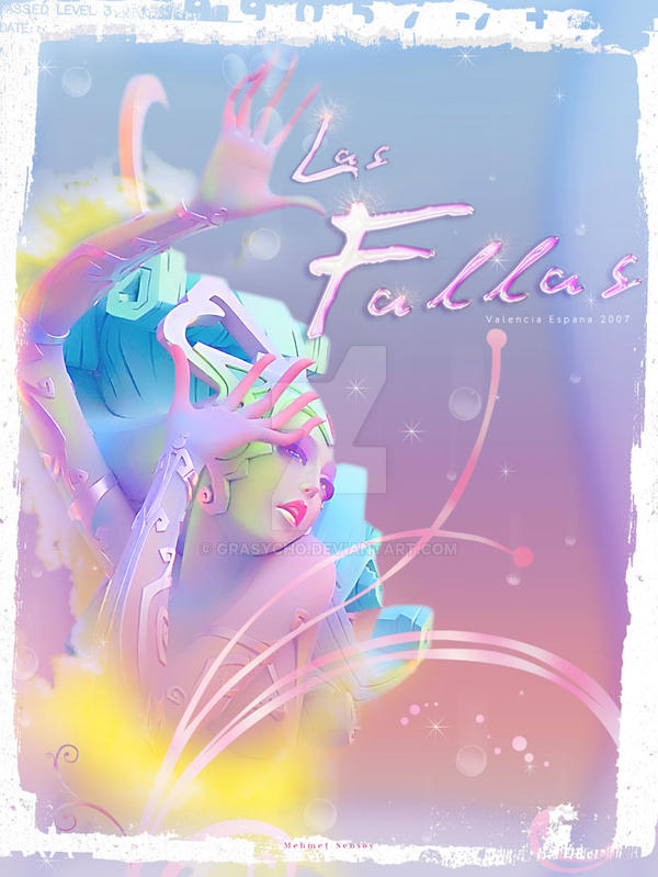 Poster for  Las Fallas by Grasycho
