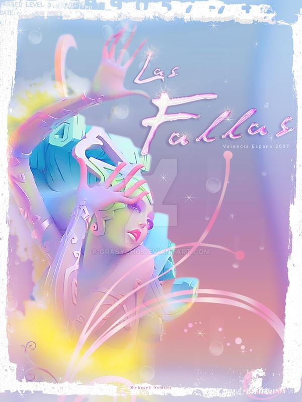 Poster for  Las Fallas