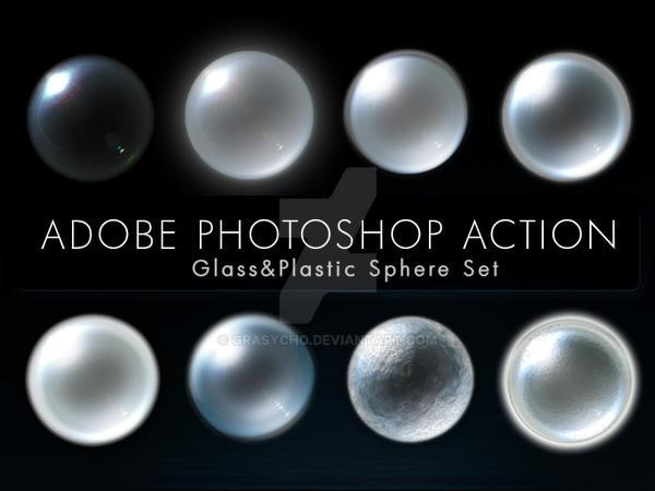 Glass n Plastic Sphere Actions