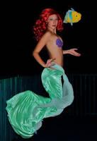 Ariel Swimming by Darkmoonwanted