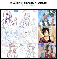 Switch Around Meme by Jillmeru