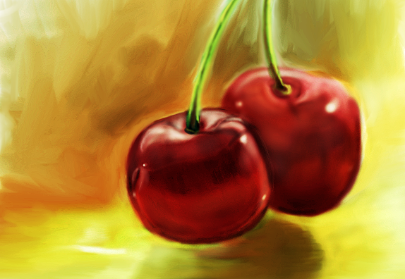 Cherries by SirCassie