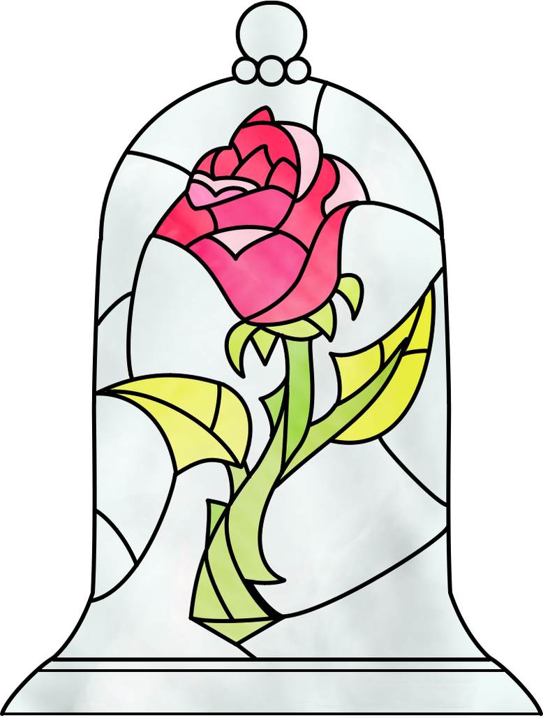 Beauty And The Beast Rose By Dosiguales