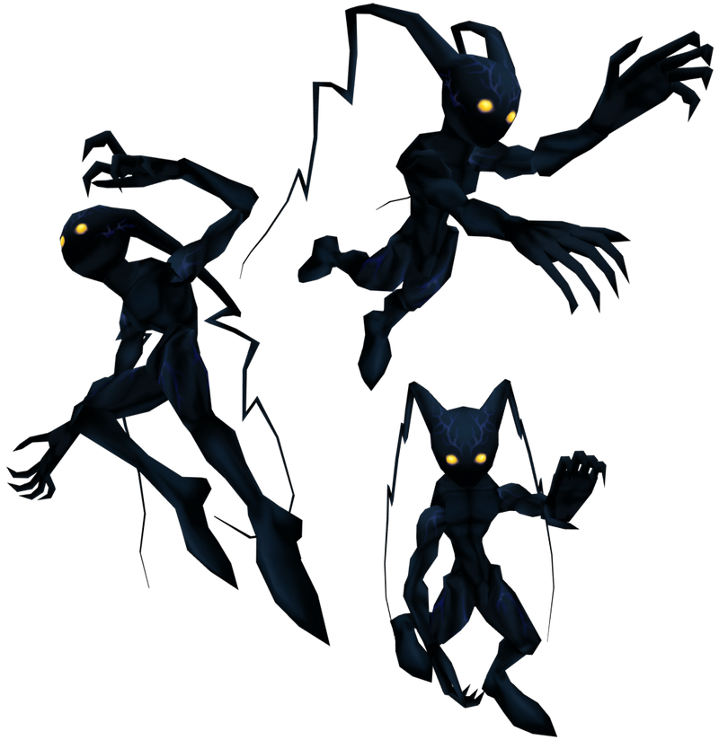 Shadow Heartless Kingdom Hearts