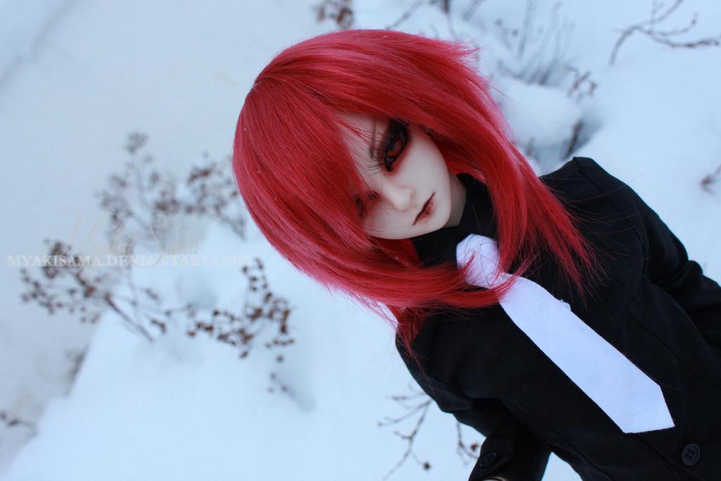 red winter. by MyakiSama