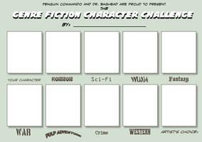 Genre Fiction Challenge by penguin-commando