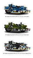 Fallout Motorcycles - Pre War