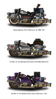 Fallout Motorcycles - the Angels Boneyard