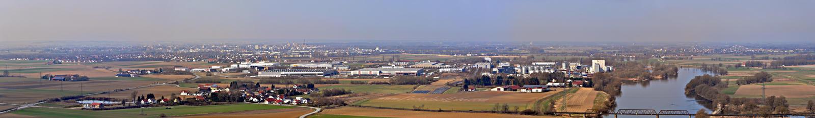Straubing Panorama by PeriodsofLife