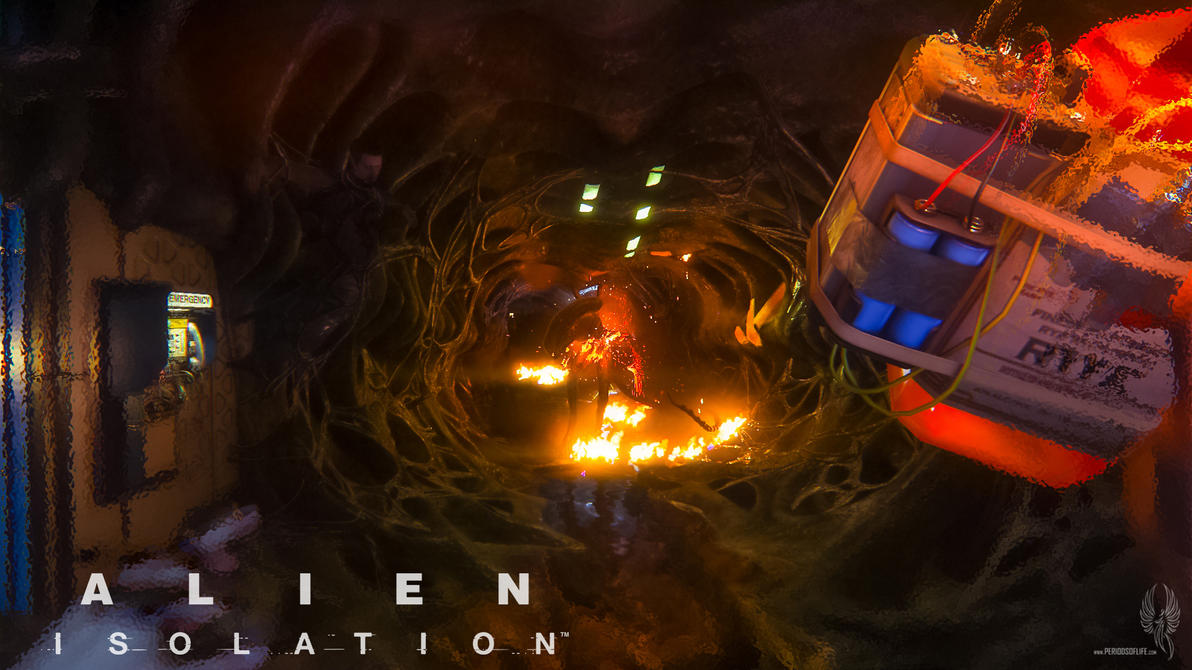 Alien Isolation 098 by PeriodsofLife