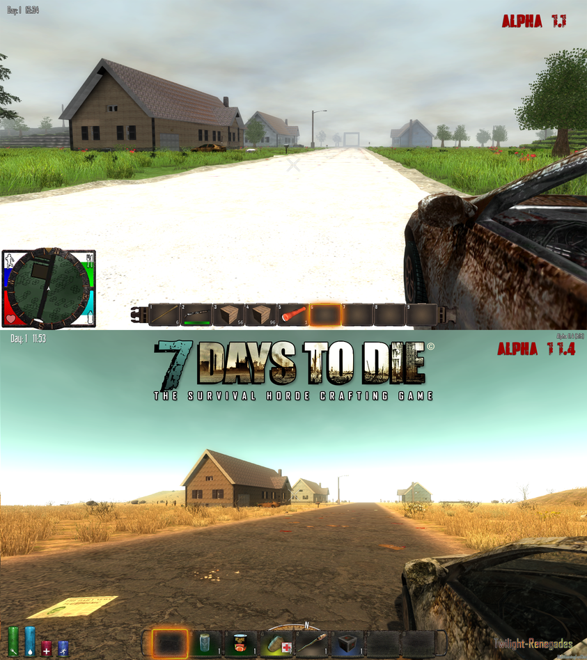 7DaysToDie from Alpha 1 to Alpha 11_1 by PeriodsofLife