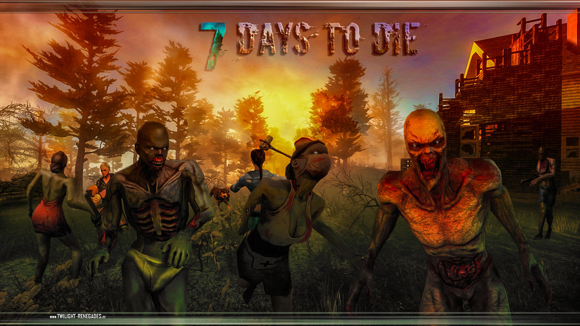 7 Days to Die Wallpaper by PeriodsofLife