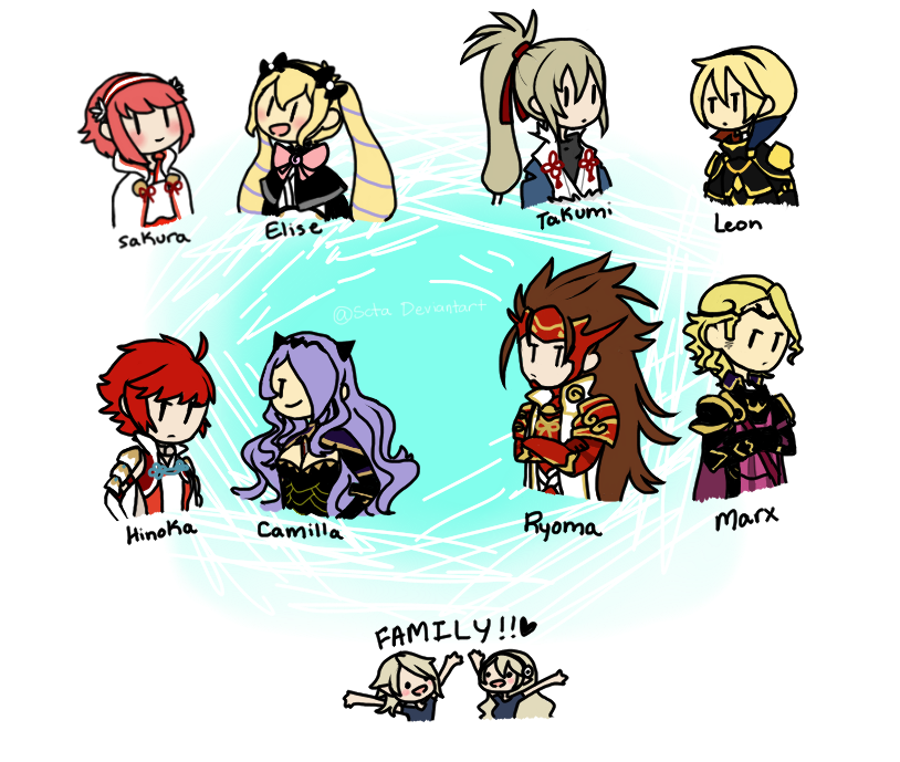 Fire Emblem If: Choose Your Path by LhasaApso on DeviantArt