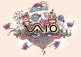 IDEA Sony VAIO Laptop Design by Stre55ed
