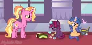 MLP (Next Gen) Learning with Luster Dawn