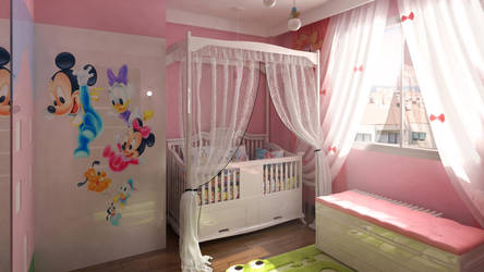 baby room by erenminareci