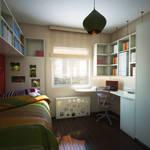 child room by erenminareci