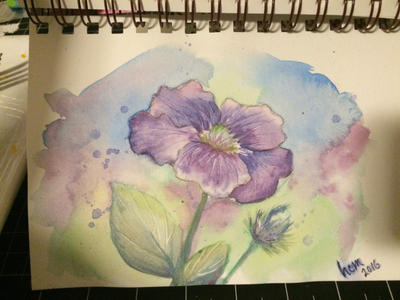 watercolor pencil tutorial by anothermitchell on deviantart