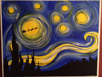 Starry Christmas Eve