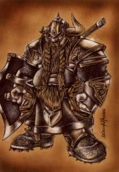 bruenor battlehammer by direnayhan