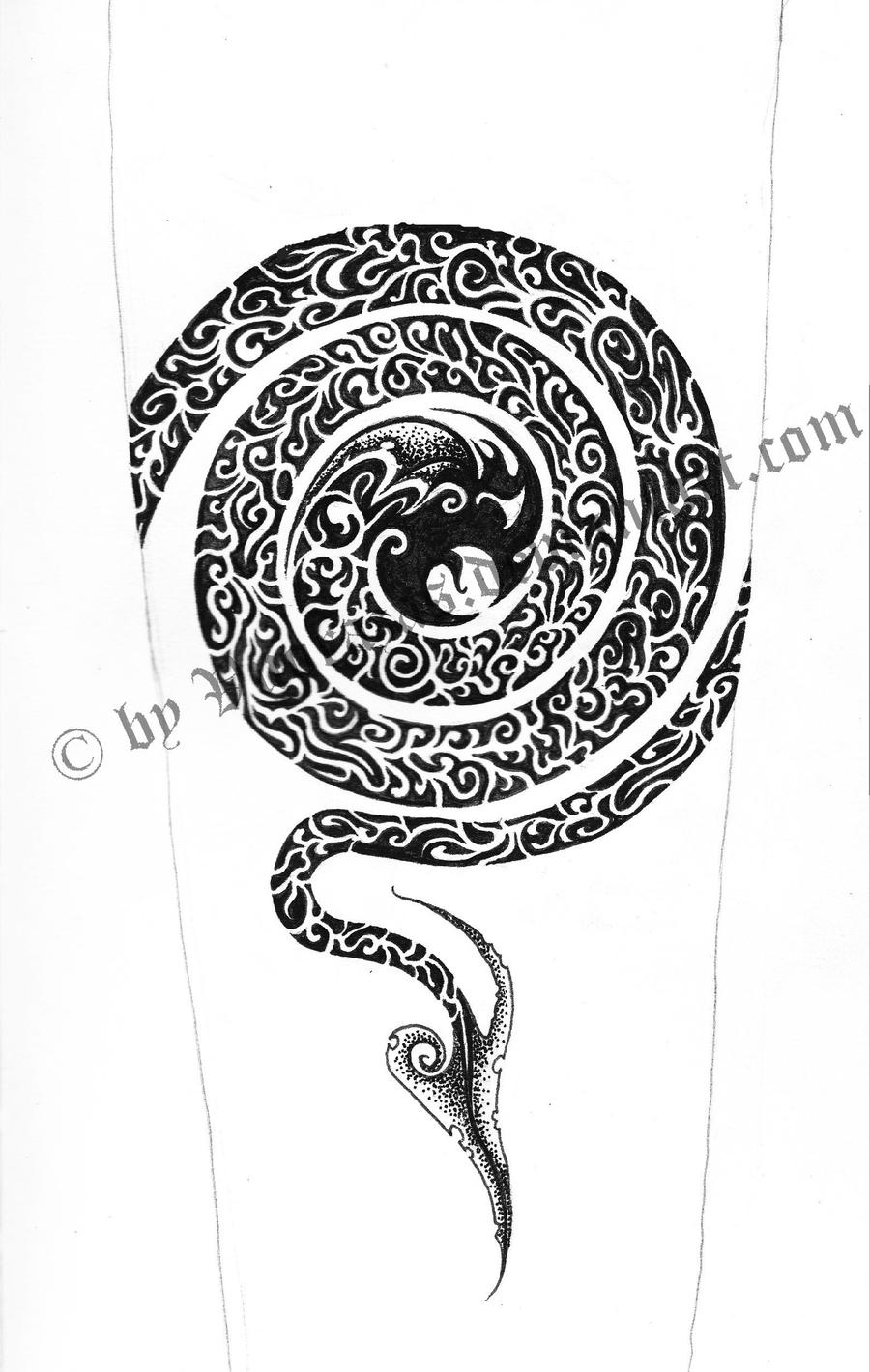 ornamental tattoo designs. Black Bedroom Furniture Sets. Home Design Ideas