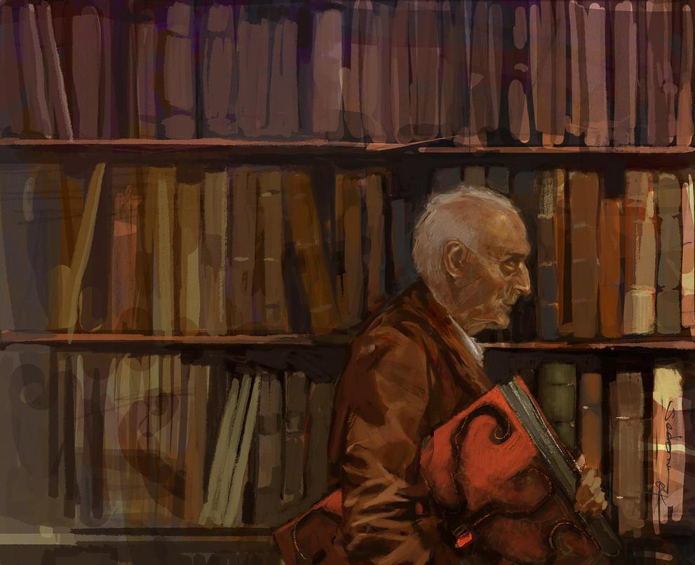PJs prétirés Strange_librarian_by_sedone-d7zgjpx