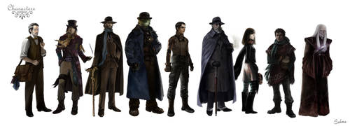 More Characters by sedone