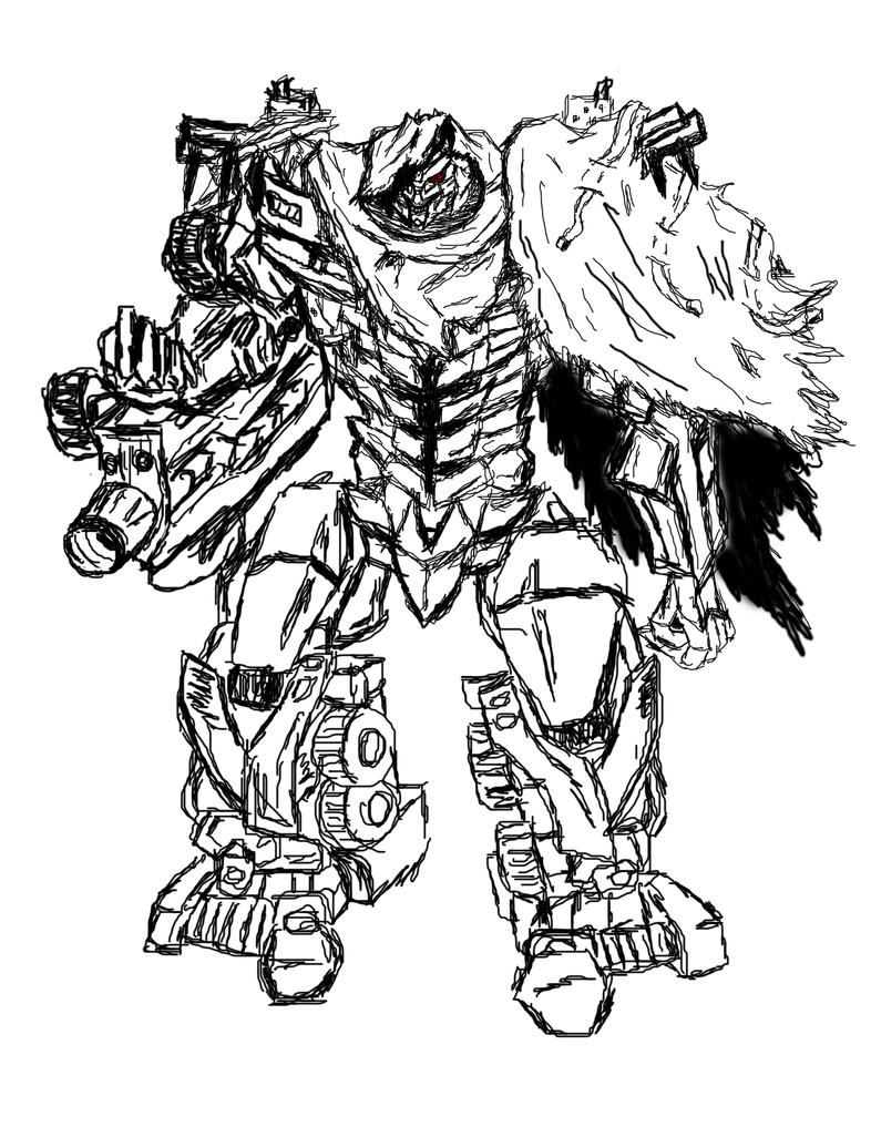 Transformers dark of the moon free colouring pages for Transformers coloring pages megatron