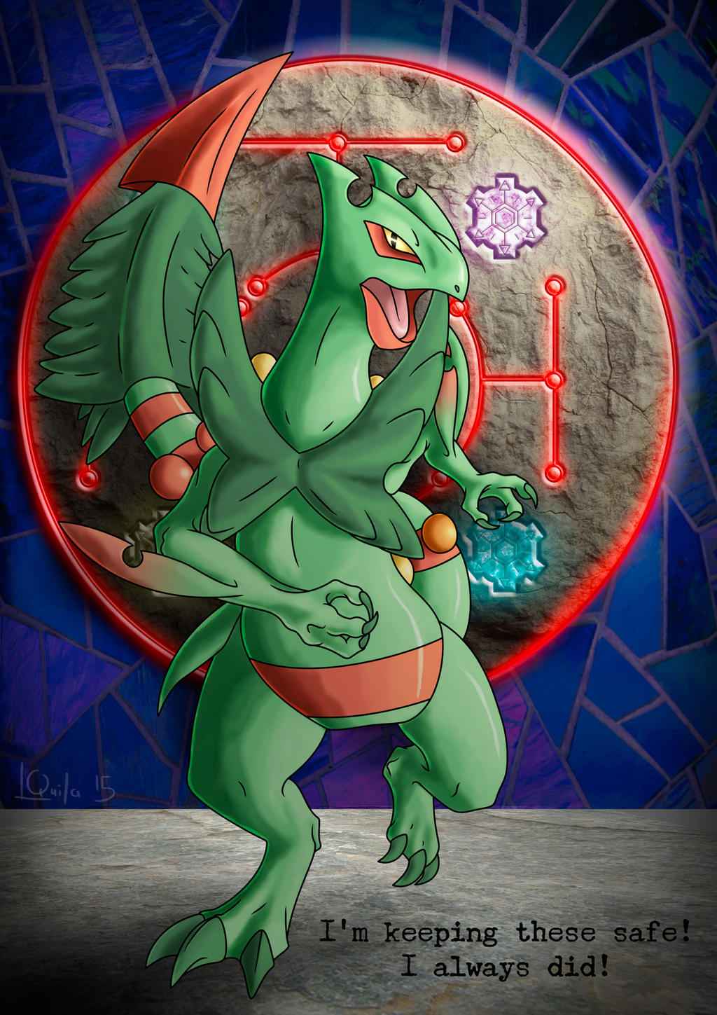 Sceptile and the gears of time