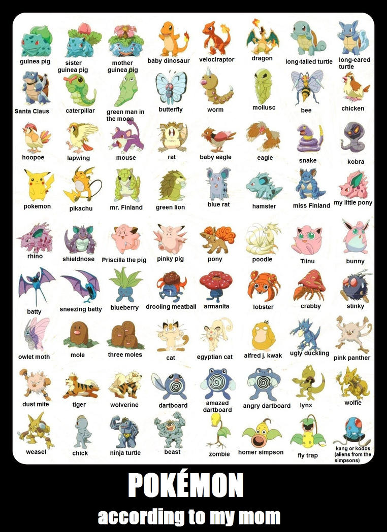 all cute pokemons with names - photo #18