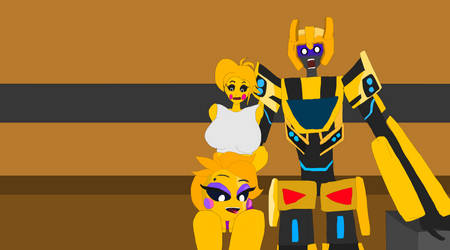 Headless toy chica tortures toy chica for furrhehe by bumblebeeflemister