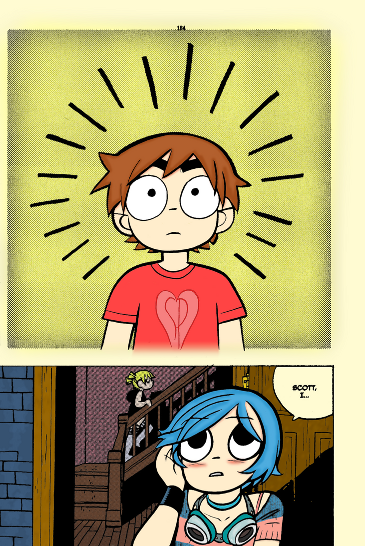 Page 165 in colour [Scott Pilgrim Vol 5] by Pro-Ice on DeviantArt