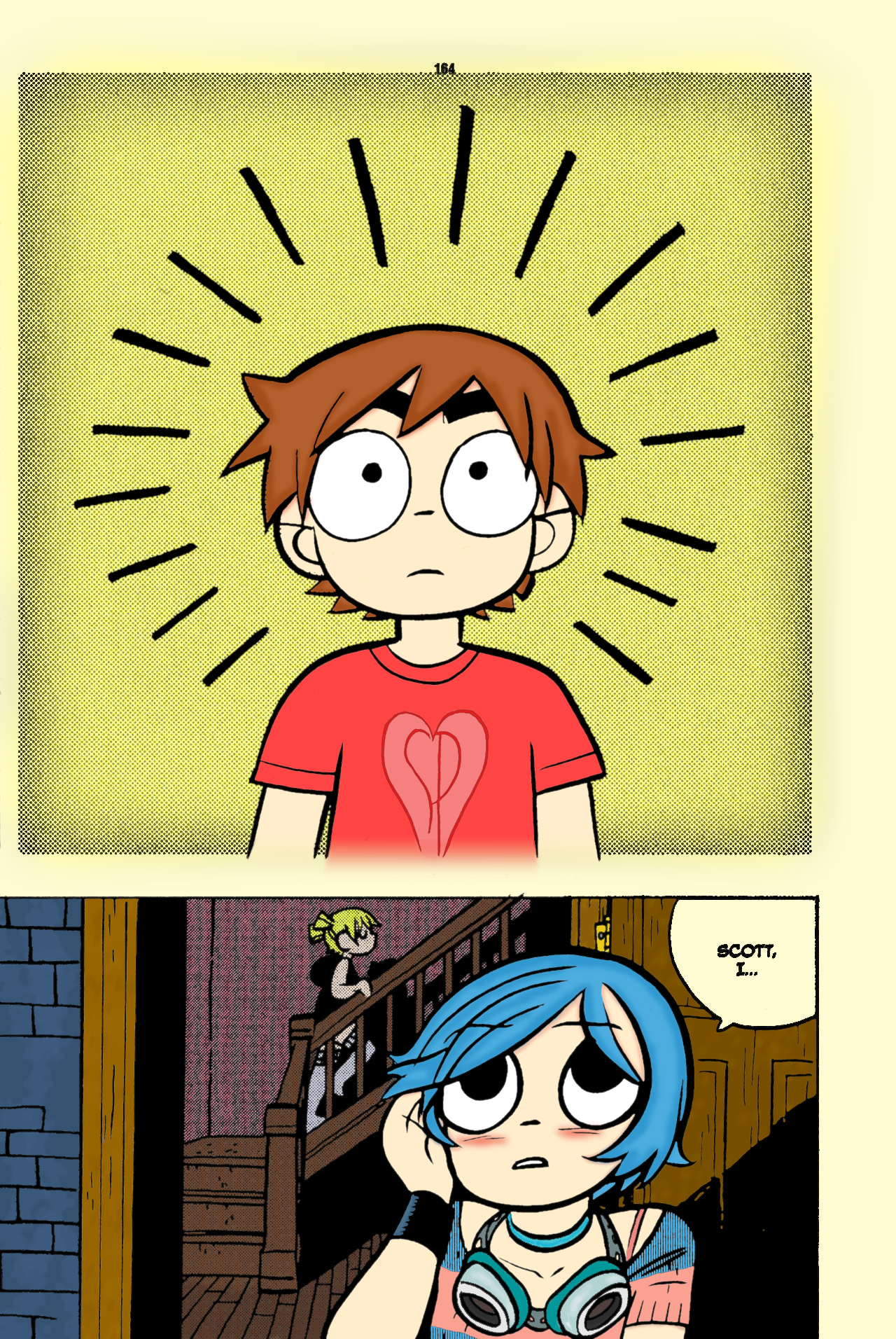 Page in colour Scott Pilgrim Vol 5 by Pro Ice on DeviantArt