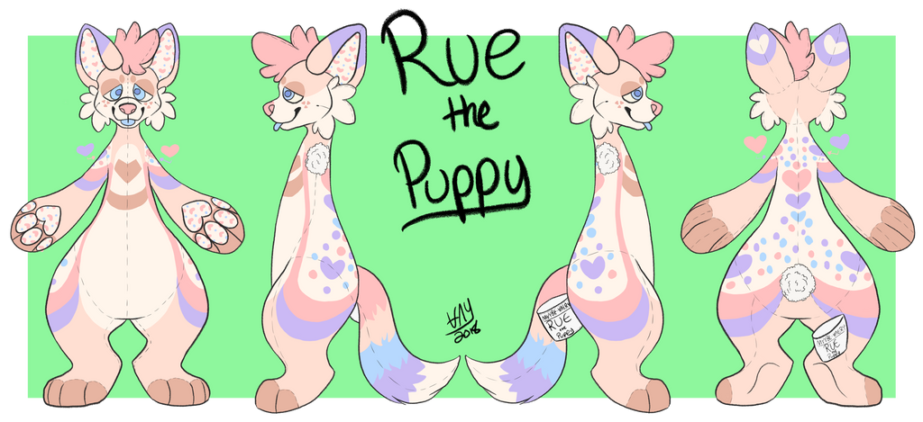 Rue fursuit reference by Maybe-Avery