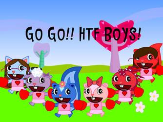 HTF - Girl Cheerleaders by HTFMegaman