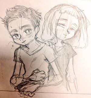 Hikaru and Yuuna