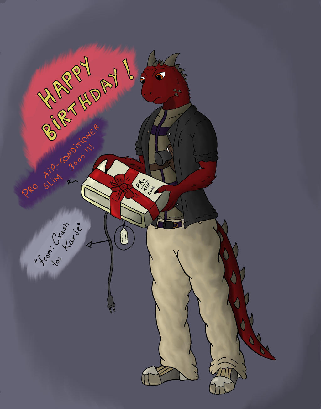 Happy Birthday !!! by CrashAzarel