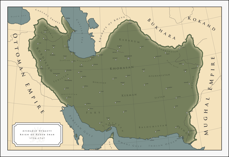 Nader Shah - The Afsharid Dynasty (1736 - 1747) by ShahAbbas1571 ...