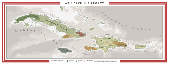 Alternate Caribbean - Abu Bakr II's Legacy (1500)