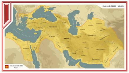 Achaemenid Empire - Reign of Darius I by ShahAbbas1571
