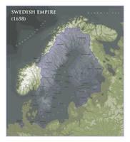 Swedish Empire - (1658) by ShahAbbas1571