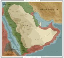 Arabian Peninsula - 1900 by ShahAbbas1571