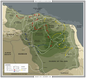 Warring Libya - The Great March of Tripolitania by ShahAbbas1571