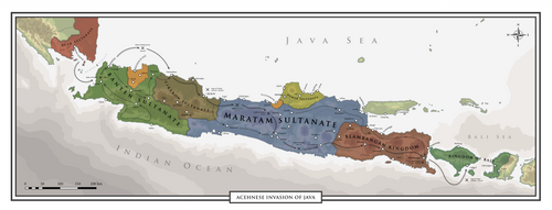 Acehnese Invasion Of Java - (1664-1666)