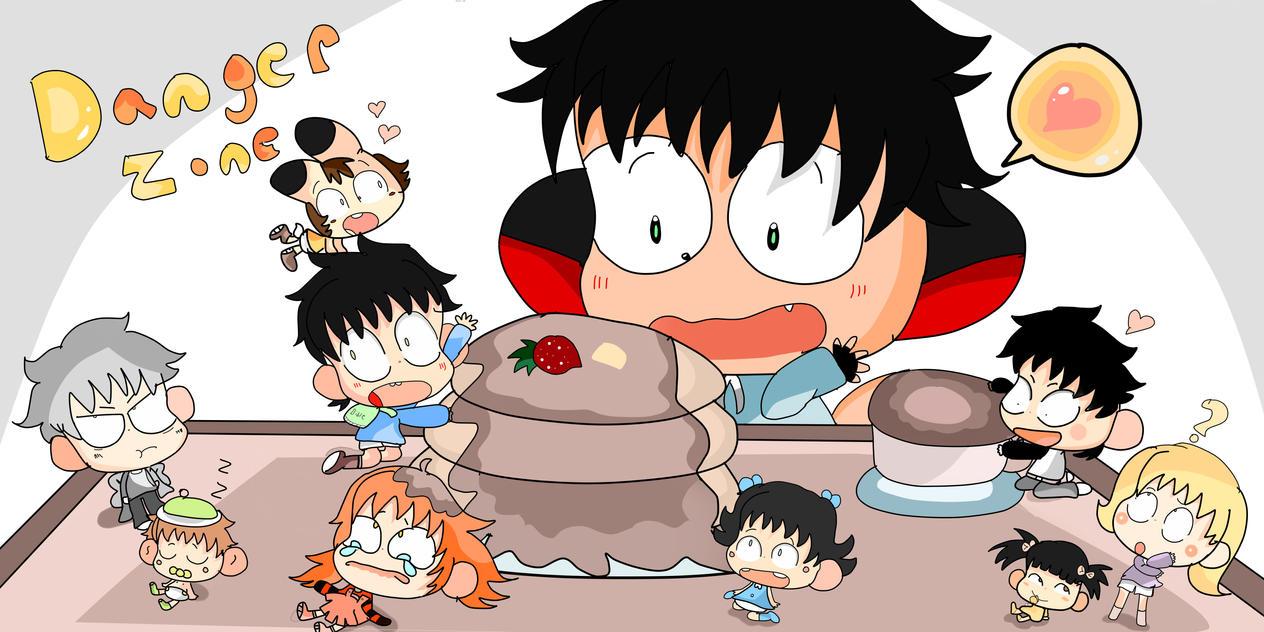 breakfast with the kazumi's by Adventureorrage
