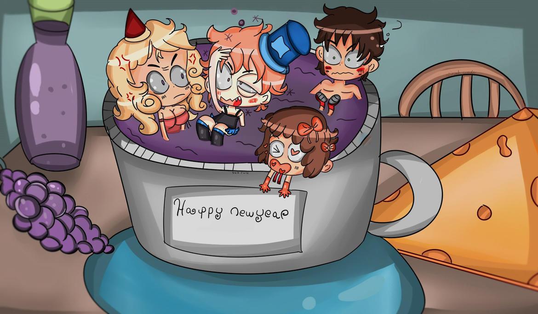 Happy new years guys! by Adventureorrage