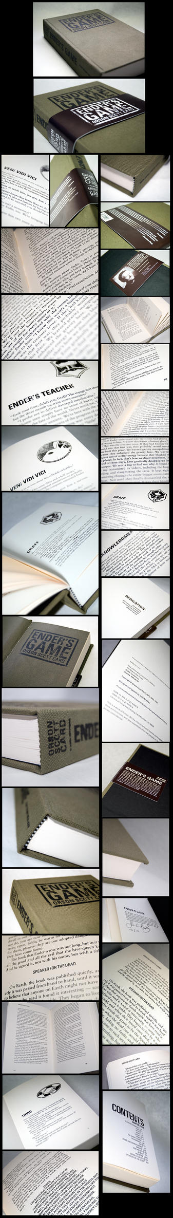 Ender's Game Book by jcbradley