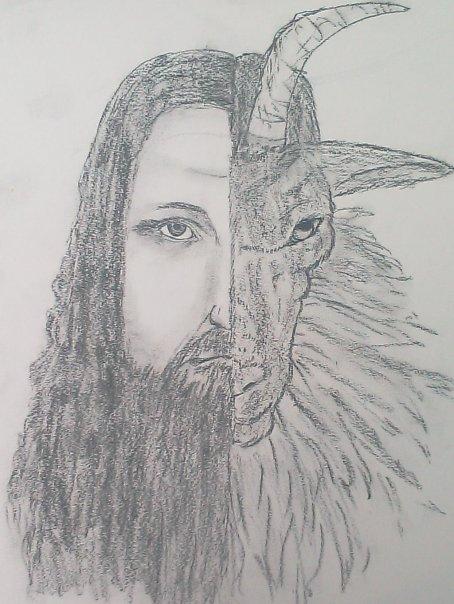 Half man, half goat. by Gaberrestrial17 on DeviantArt - photo#11