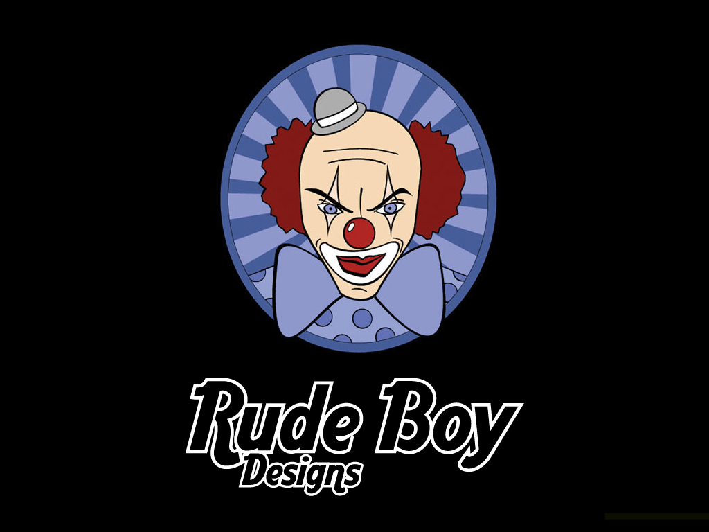 Rude Boy Designs Psycho Clown By Rudeboydesigns
